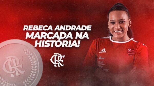 Rebeca Andrade fez história.