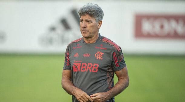 Renato Gaúcho irá estrear no Flamengo.