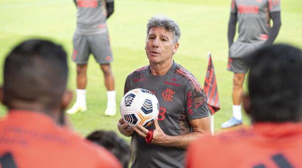 Renato Gaúcho busca sucesso no Flamengo.