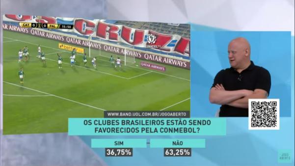 Ronaldo Giovanelli faz alerta para os jogos de volta dos brasileiros na Copa Libertadores