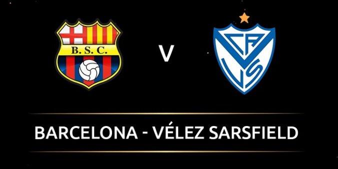 Barcelona de Guayaquil x Vélez Sarsfield AO VIVO pela Copa Libertadores