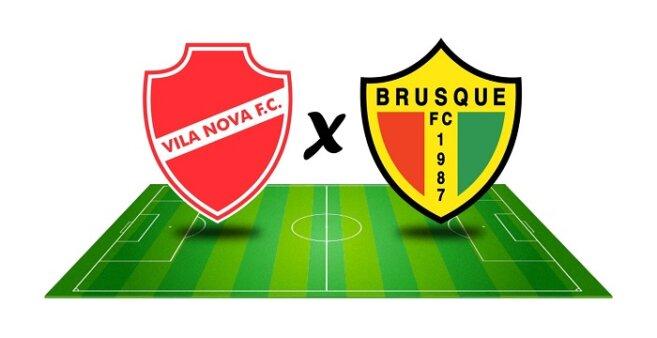 Vila Nova x Brusque AO VIVO pelo Campeonato Brasileiro Série B (Imagem: Reprodução/ Arte: Adriano Oliveira)