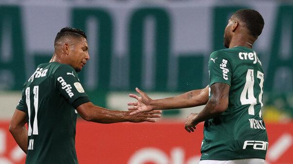 Wesley pode ser vendido pelo Palmeiras.