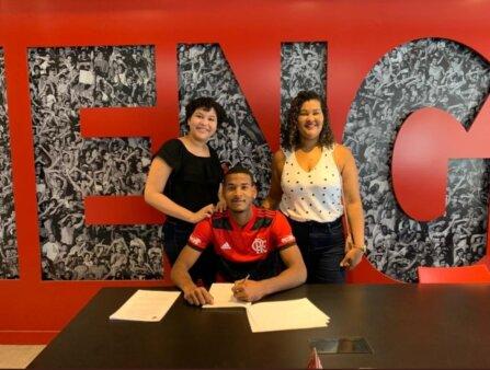 Zagueiro do Flamengo