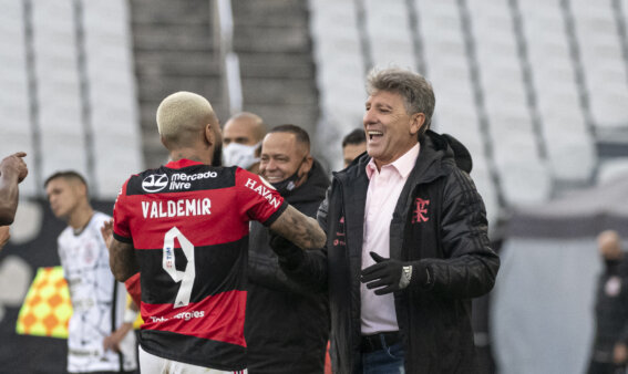 Flamengo x Corinthians Renato Gaúcho