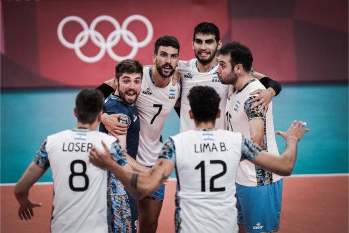 Argentina vira sobre o Brasil e fatura o bronze no vôlei masculino