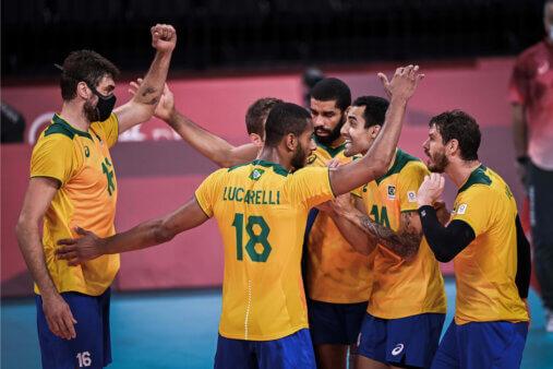 Olimpíadas: Em jogo espetacular, Brasil supera França no tie-break pelo vôlei masculino