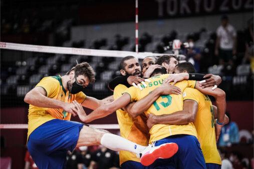 Olimpíadas: Brasil domina Japão e está na semifinal
