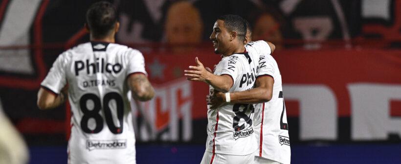Copa do Brasil: Athletico-PR empata com Atlético-GO mas se classifica
