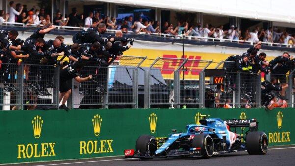 Esteban Ocon vence GP da Hungria