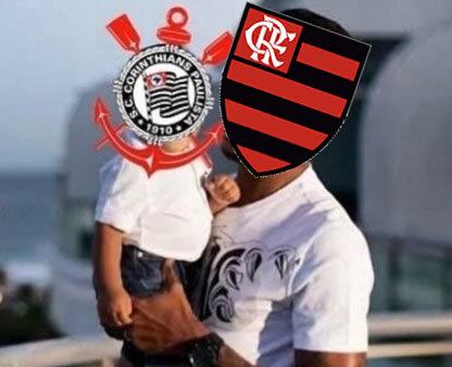 Flamengo atropelou o Corinthians.