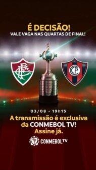 Fluminense x Cerro Porteño guia