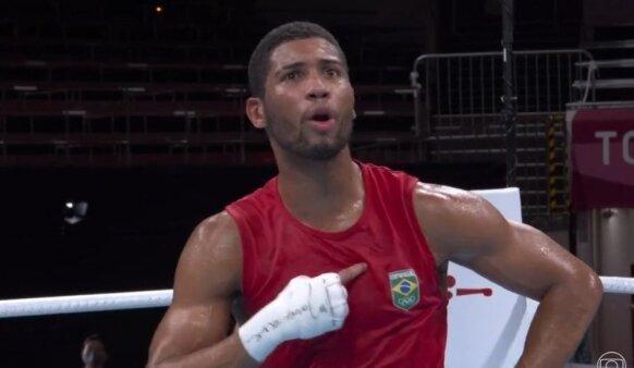 Brasileiro garantiu medalha nas Olimpíadas.