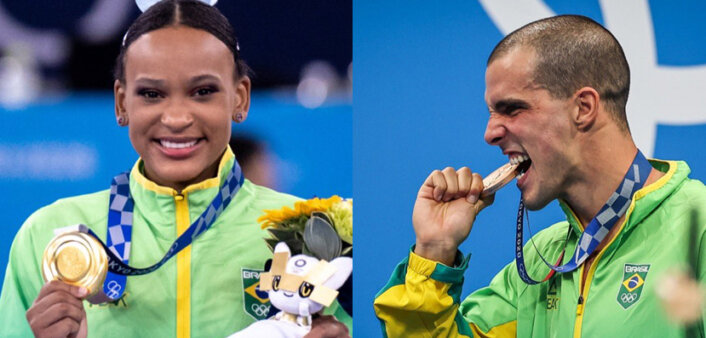 medalha balanço brasil