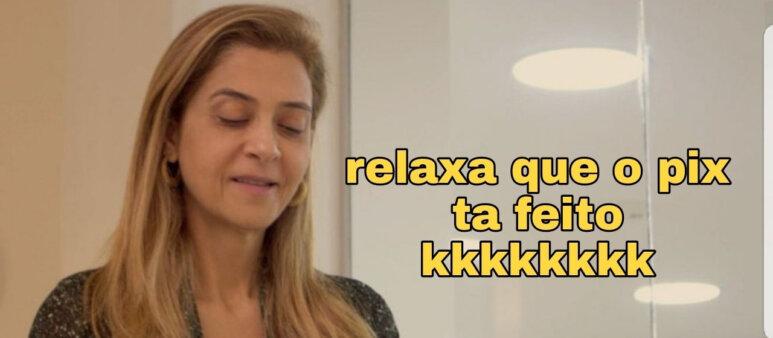 "Memes da 14ª rodada: ""pix"" da Leila, Vargas e Fla mal acostumado"