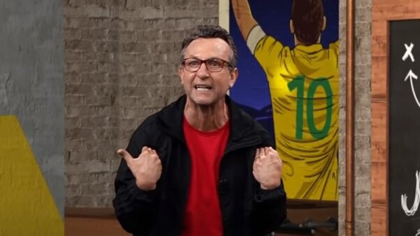 Neto detonou Neymar.