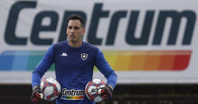 Gatito Fernández em ação pelo Botafogo