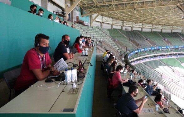 Corinthians x Palmeiras: final do Brasileirão Feminino teve cobertura massiva da imprensa - imagem: Jo Marcone/CBF