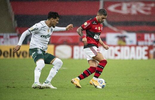 Palmeiras x Flamengo pelo Campeonato Brasileiro no Premiere (Foto: Alexandre Vidal/ Reprodução/ Flickr oficial do Flamengo)