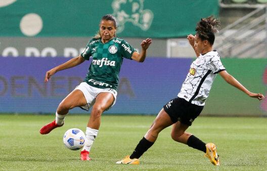 Corinthians x Palmeiraas: clássico paulista decide o título do Brasileirão Feminino 2021