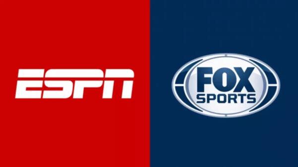 Logos dos Canais Disney: ESPN e Fox Sports