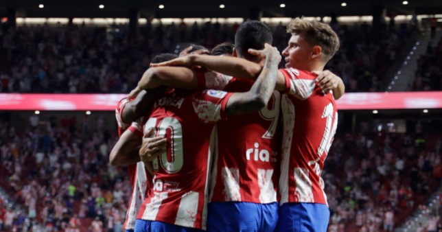 Atlético de Madrid escalação