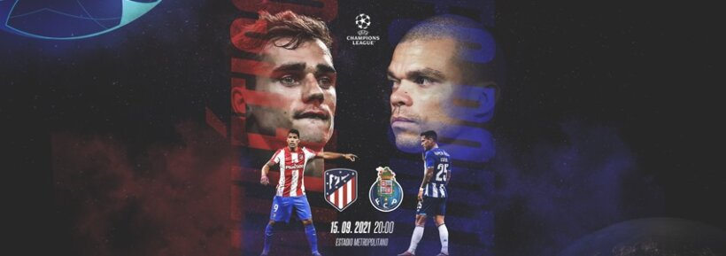 Atlético de Madrid x Porto guia