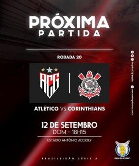Atlético-GO x Corinthians guia