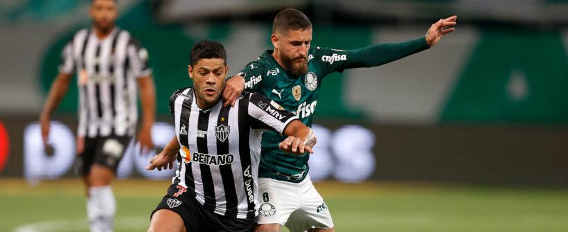 Vem pênaltis aí? Atlético-MG e Palmeiras fazem jogo de anfitrião imbatível contra visitante invicto na Libertadores