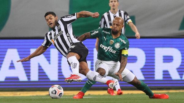 Atlético-MG x Palmeiras, Libertadores