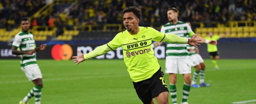 Champions League: substituto de Haaland faz, e Borussia bate o Sporting em Dortmund