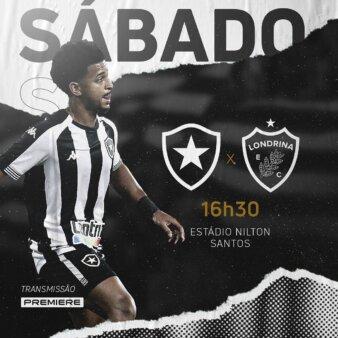 Botafogo x Londrina guia