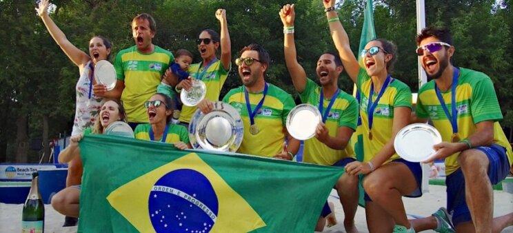 Quantos títulos o Brasil ganhou no Mundial de Beach Tennis?