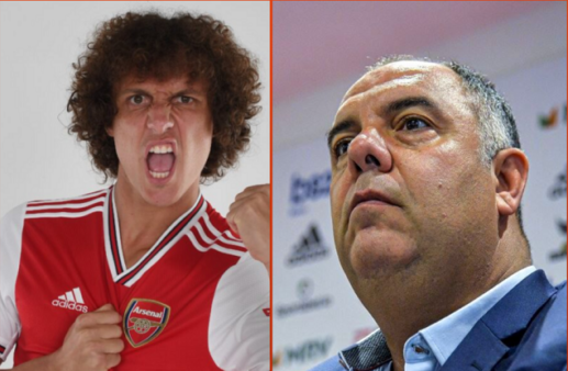 David Luiz fechou com o Flamengo.