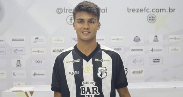 Lateral contratado Atlético-MG Andrey Gentil palmeiras