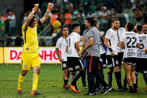 Corinthians x Palmeiras Cássio