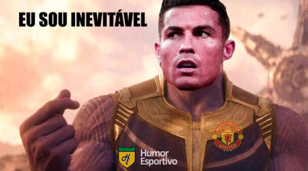 Cristiano Ronaldo brilhou pelo United.
