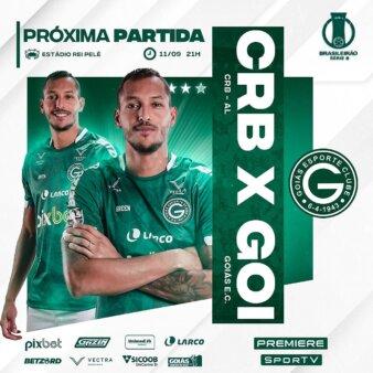 CRB x Goiás guia