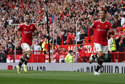 Cristiano Ronaldo em Manchester United