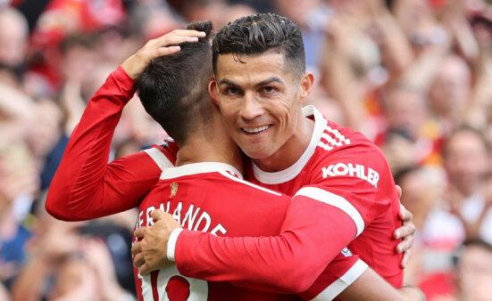Cristiano Ronaldo no Manchester United