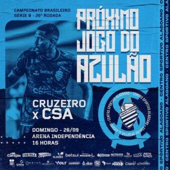 Cruzeiro x CSA guia