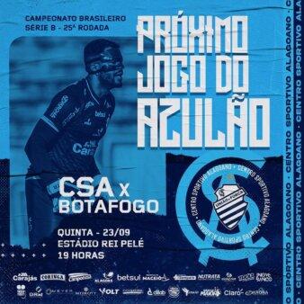 CSA x Botafogo guia