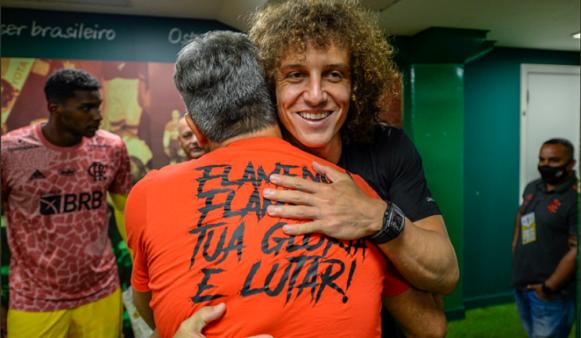 David Luiz chegou ao Flamengo.