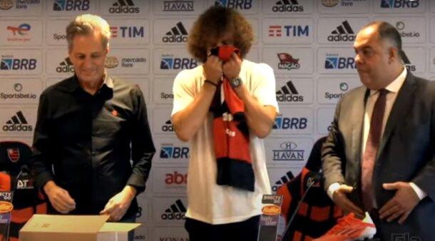 David Luiz no Flamengo