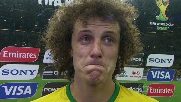 David Luiz na seleção brasileira
