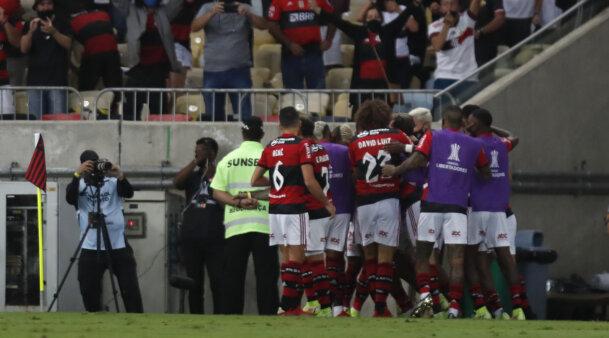 Jogo do Flamengo x Barcelona na Libertadores
