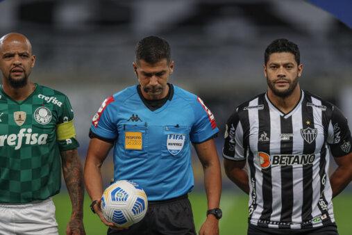 Felipe Melo e Hulk no Atlético-MG