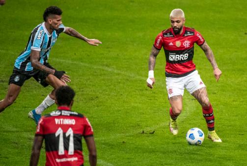 Flamengo recebe o Grêmio.