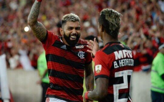 Gabigol e Bruno Henrique são os dois principais artilheiros do Flamengo no Brasileirão 2021
