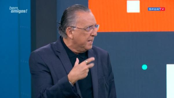 Galvão Bueno aponta técnico para Seleção